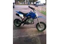 50cc Mini Dirtbike (Like new)