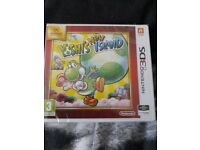 Yoshis new island Nintendo 3DS computer game.