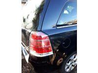 Vauxhall zafira 7 seat 1.9 manwal