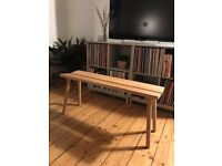 Ikea x HAY Ypperlig Wooden Bench (Beech)