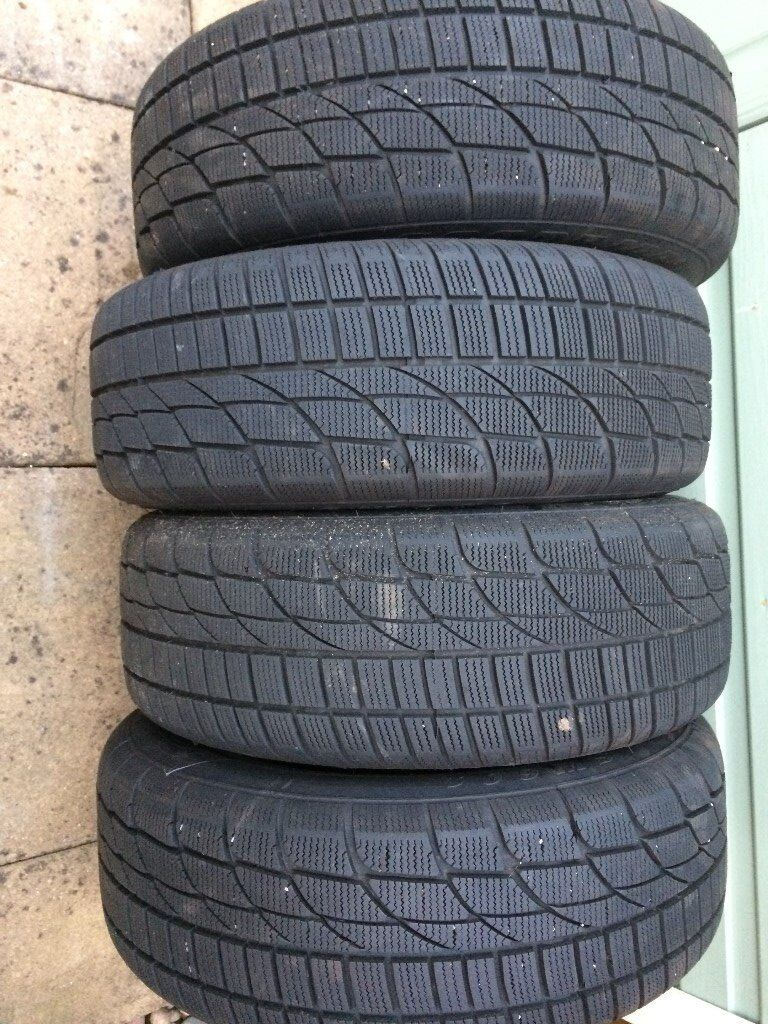 Ford Focus winter tyres and steel rims