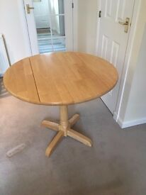 Ex-John Lewis Pearwood Round Dining Table