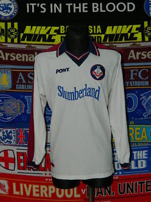 5/5 Oldham Athletic adults XXL 1998 MINT original football shirt jersey trikot  image