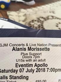 Alanis Morissette SOLD OUT GIG 7th July @ the Apollo