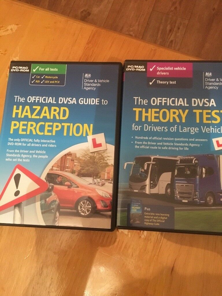 The Offical DVSA Theory Test for Large Vehicles and Hazard perception for sale