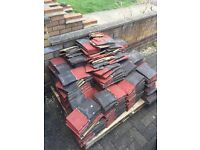 Free palette of roof tiles