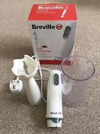 Breville hand blender in box (like new!)