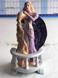 Franklin Mint collectable Porcelain Figurine Rapunzel