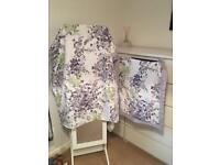 Next floral double duvet & pillow cases