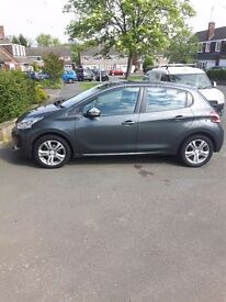 Peugeot 208 1.4hdi, sat nav, 16 inch alloys, bluetooth, cruise control, fsh, 1 owner,top condition