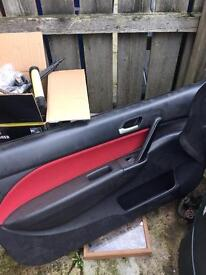 Honda Civic type r facelift door gards ep3 dc5 integra