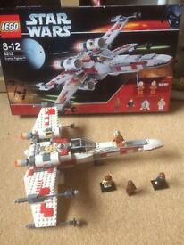 6212 LEGO STAR WARS X WING STARFIGHTER COMPLETE