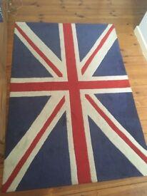 Union Jack Rug 110x160cm