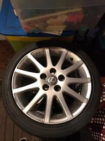 "Lexus is200/300 17"" alloys x 4"