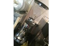 Full Barista Coffee Machine and Attachments with free Coffee Bean Grinder