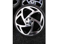 **MASSIVE DISCOUNT** 20 Inch Radi8 S5 wheels 5x112 STANCE VAG- AUDI A4 A6 A8/ VW
