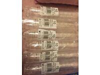 60 plastic wine glasses / cups 20cl