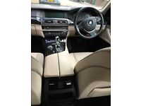 Bmw 5 series Black 525D Automatic Efficient Dynamic