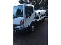 Nissan cabstar recovery truck 2011 61 reg drives spot on alloy body slide away ramps