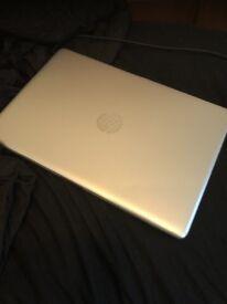 Hp laptop silver