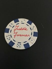 Freddie Foreman London crime boss Krays signed autograph UK MAFIA