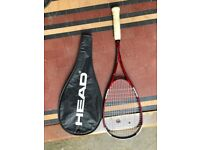 Head Liquidmetal 160 Squash Racquet- Great Quality