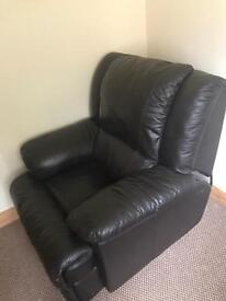 Dark brown armchair for sale!