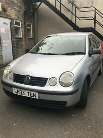 Volkswagen Polo 1.2 Petrol Good Runner Cheap Tax and Insurance