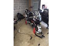Honda cbr1000rr track bike