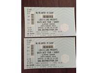 SW4 Sunday tickets x2
