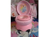 Disney Princess 3 in 1 Potty Chair