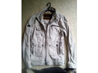 Superdry Barbour style Cotton Jacket