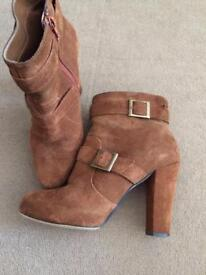 Next suede boots size 6