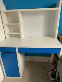 IKEA desk virtually new