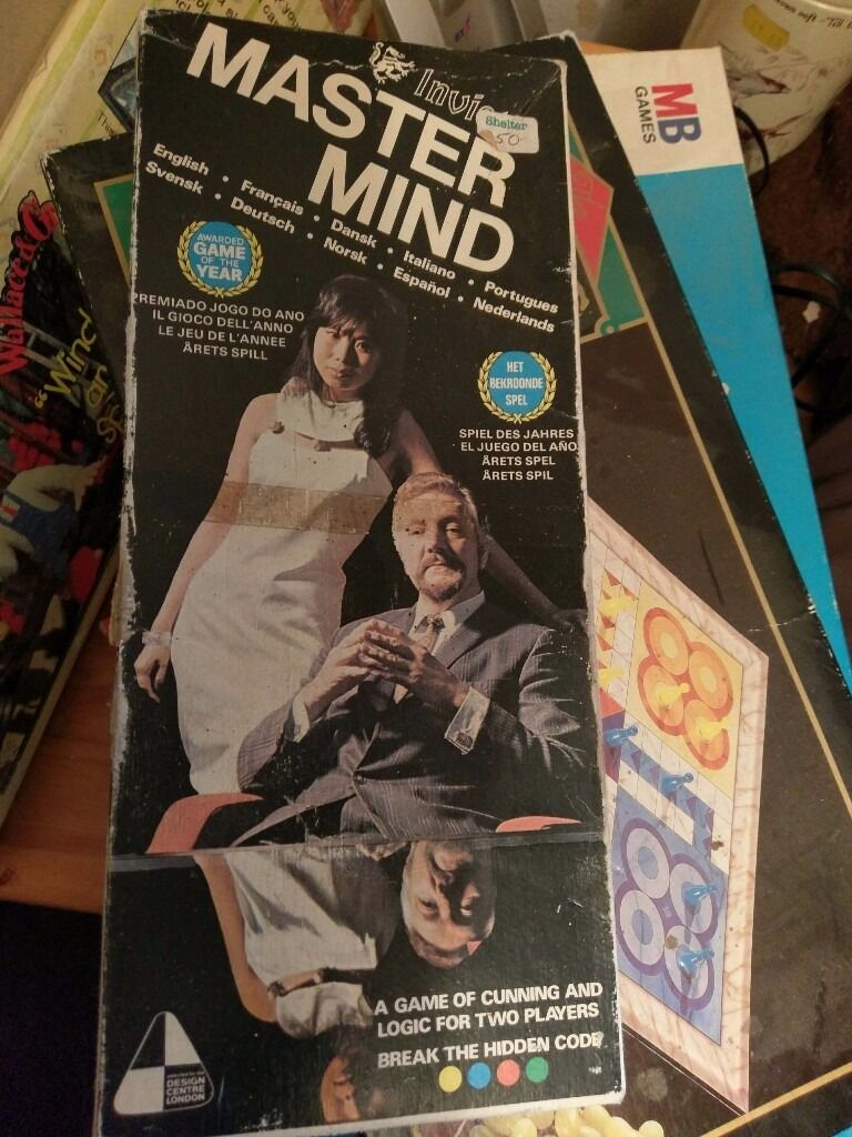 Classic mastermind game from the 1970,s