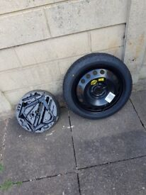 HONDA CIVIC (2006-PRESENT DAY) '16 SPACE SAVER SPARE WHEEL