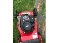 Petrol lawn mower Briggs and Stratton