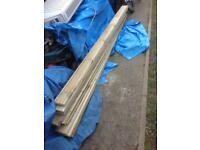 9 Lengths of 8 Foot Decking Boards