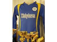 Custom made orders football kits boxing gear