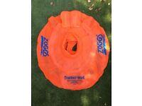 Zoggs Baby Swim Seat - Orange: 3-12 Months
