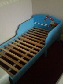 Junior / Toddler bed with mattress £65