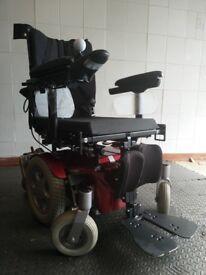 Sunrise Quickie Salsa Mini Electric Wheelchair Powerchair