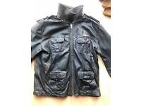 Superdry 'Ryan' Leather Jacket Chest 42-44''