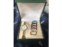 Vintage Gucci Ladies Watch with interchangeable bezels