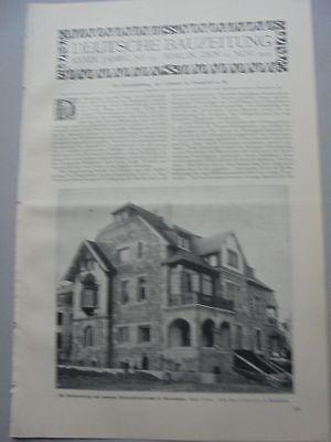 1905 93 Frankfurt Altstadt Mannheim Haus Mayer