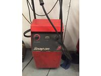 Snap-on snap on battery charger used