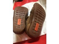 Boys clarks shoes size 10 and half