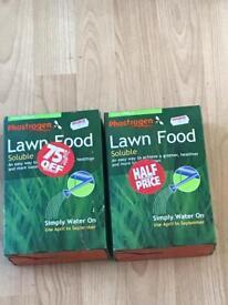 Chempak Multipurpose Compost Base & Phostrogen Lawn Food