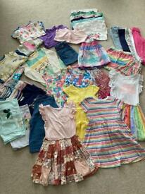 Girls Age 5-6 years Large Summer Clothes Bundle