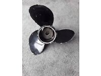 Propeller for outboard engine